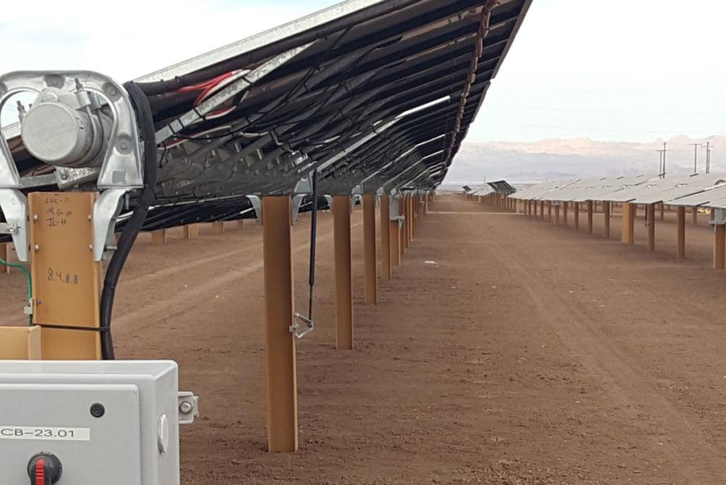 Midway I & II Energy Solar X-Piles
