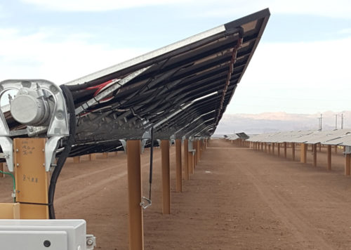 Blattner Energy X-Piles Solar Steel Piles