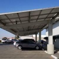 commercial Solar Carport Structure