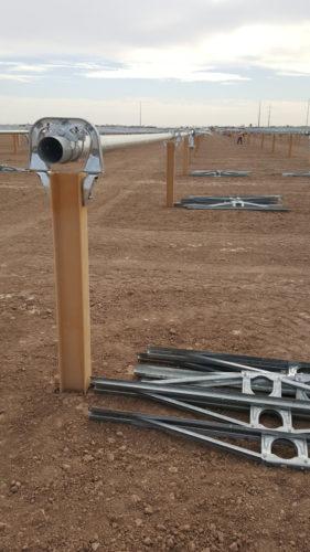 Coated Solar X-Pile