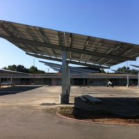 Kern High School District Solar CarPorT solar parking canopy project