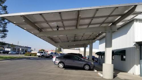 PavSolar GroundMount Solar Structure