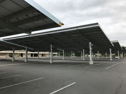 Kern High School District Office Solar CarPorT™