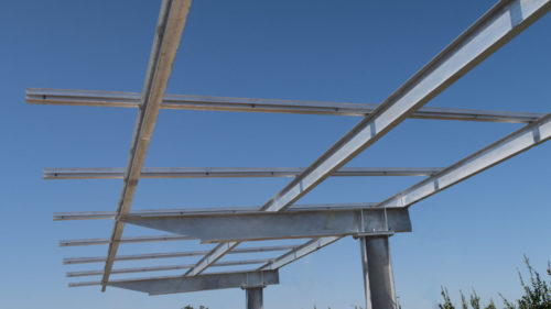 Inner Valley Transport solar power carport Solar CarPorT™