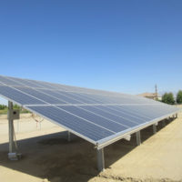 Ski West GroundMount Solar Structure