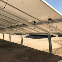 GroundMount Solar Structure, ground mounts for solar panels for HOA in Arvin