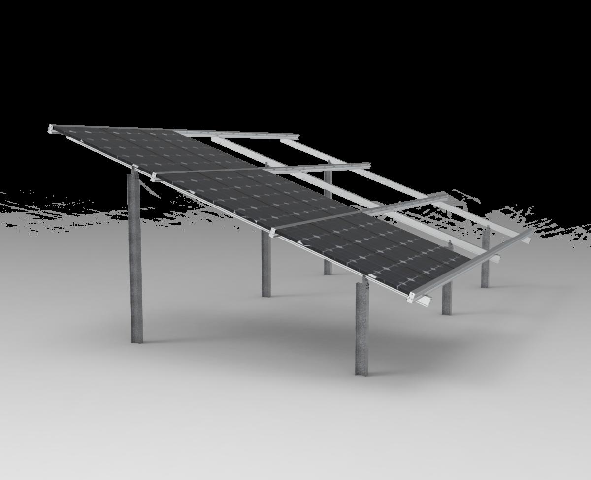 solar ground mount image example