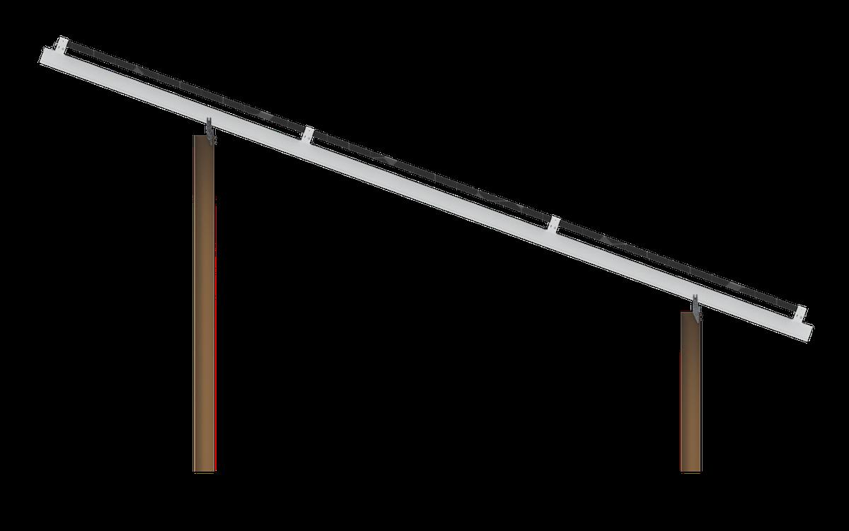 solar x-pile design