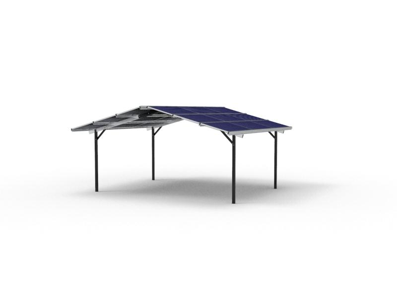 Resi_PorT Peak residential solar carport