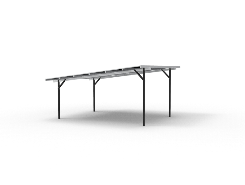 Resi-PorT Plateau S residential solar carport