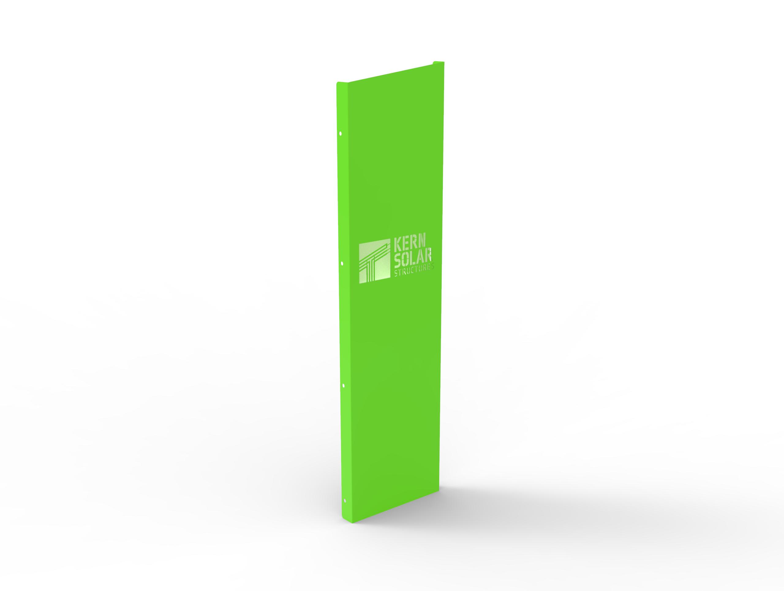 Solar Wrap with laser cut logo